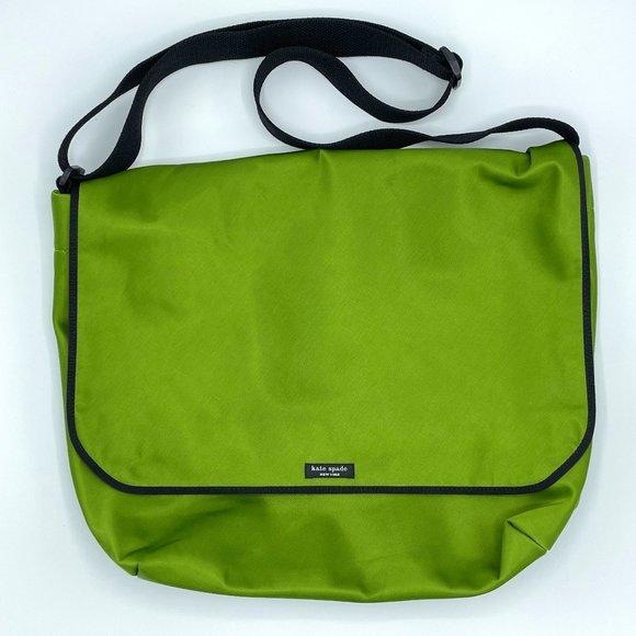 Kate Spade Lime Green Crossbody Messenger Bag